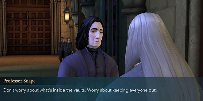 Severus Snape Character - Harry Potter Hogwarts Mystery