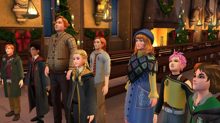 Hogwarts Mystery Christmas 2021 Walkthrough For Part 4 Of The Christmas Holidays Adventure Is Here